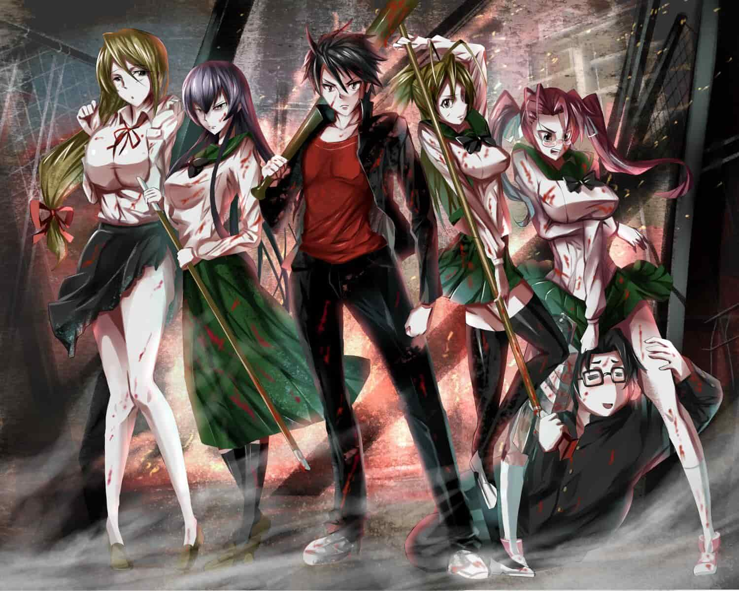 High School of The Dead Hindi Dubbed
