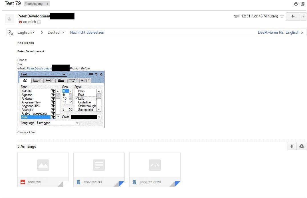 gmail anhang