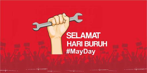 Selamat hari buruh Internasional 1 mei 2018