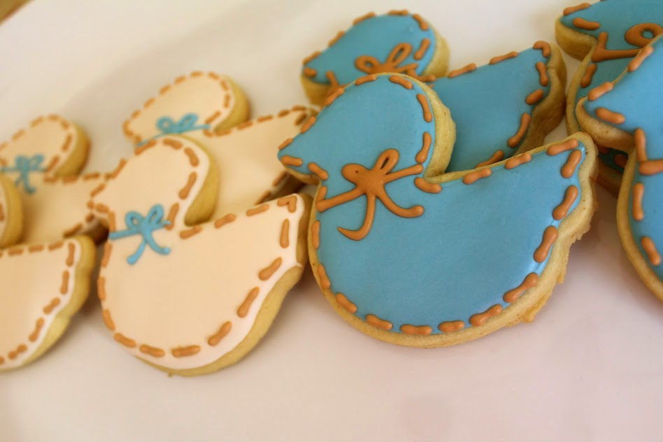Baby Shower Duck Cookies