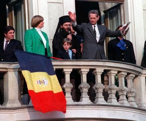 1992 - Regele Mihai, principele Nicolae, principesa Margareta