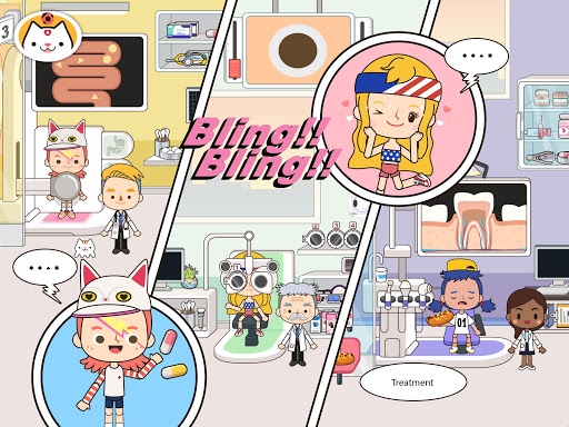 Miga Town: My Hospital 1.5 Screenshots 8