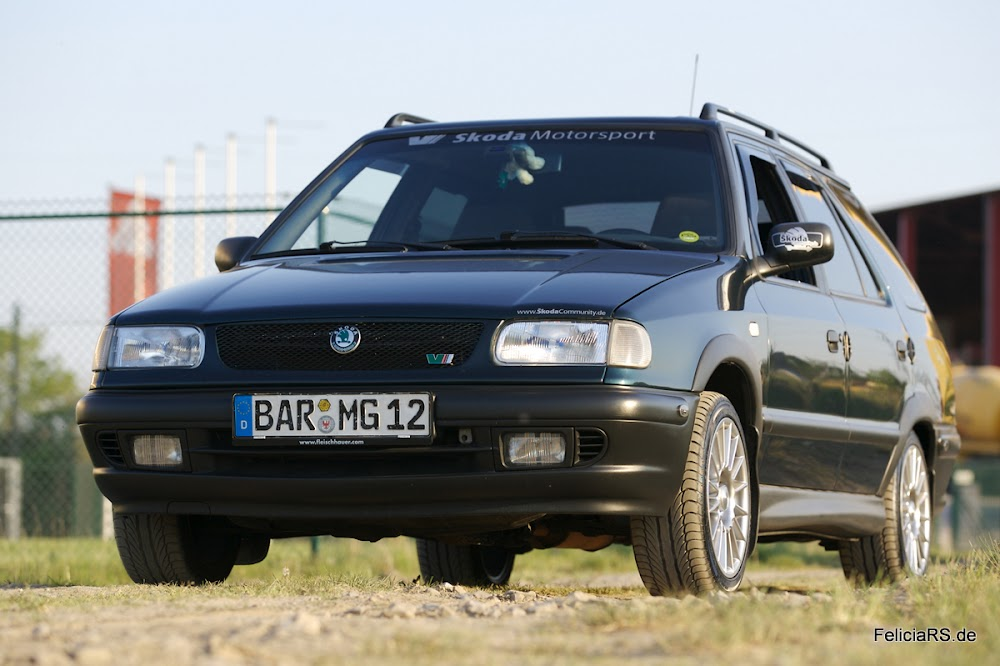 Mein erstes Auto: Škoda Felicia Combi 1,3l mit Gasanlage und 68PS