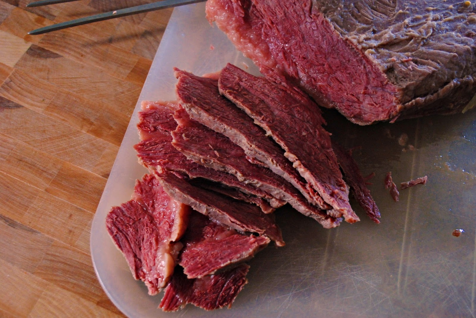 it or not there is a correct and an incorrect way to cut corned beef ...