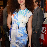 WWW.ENTSIMAGES.COM -    Natalie Gumede    arriving  at      The Scottsboro Boys - press night at Garrick Theatre, Charing Cross Road, London October 20th 2014Kander and Ebb's provocative musical about the true story of nine young black men falsely accused of raping two white women.                                                   Photo Mobis Photos/OIC 0203 174 1069