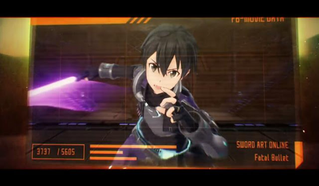 Opening Movie for Sword Art online: fatal Bullet is out!