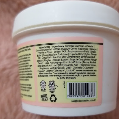 Resenha: shampoo em pasta chá latte  - Lola Cosmetics