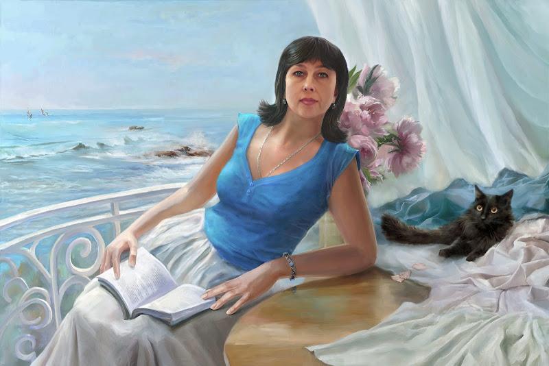 портрет, компьютерное искусство