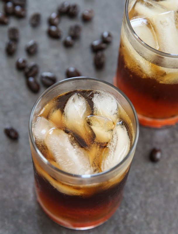 overhead photo of Coffee Soda