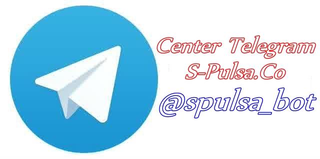 Cara Transaksi Pulsa via Telegram  -Pulsa PPOB Blora Web Pusat www.S-Pulsa.co