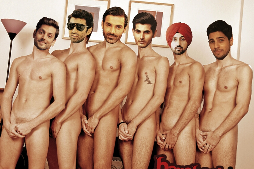 Naked celebrities male The most