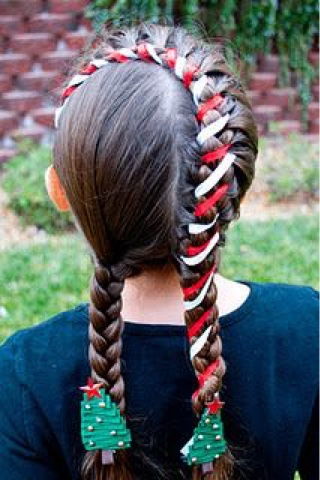Christmas Hairstyles For Kids.Christmas Hairstyles For Kids