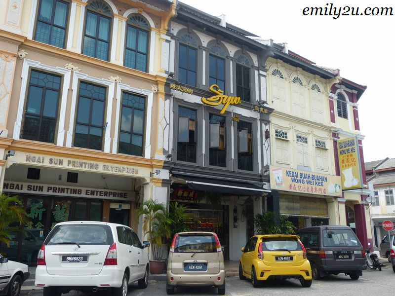 Restaurant SYW Ipoh