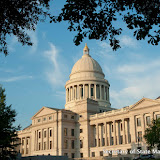 7-18-16 Southwest view Arkansas State Capitol