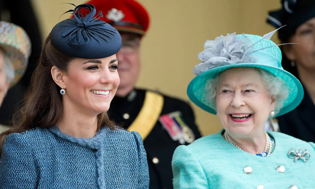 Kate Middleton reveals the Queen's Sweet Tradition for her Great-Grandchildren