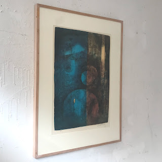 Signed Abstract Expressionist Lithograph
