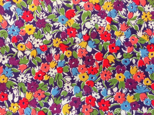 Lesley's print by Liberty of London