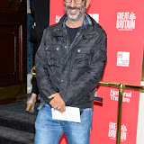 WWW.ENTSIMAGES.COM -     David Baddiel  arriving  at     Great Britain - press night at Theatre Royal Haymarket, London September 26th 2014West End Opening at Theatre Royal Haymarket for Richard Bean's GREAT BRITAIN -  Play about an ambitious tabloid editor in production described as anarchic satire about the press, the police and the political establishment.                                                    Photo Mobis Photos/OIC 0203 174 1069