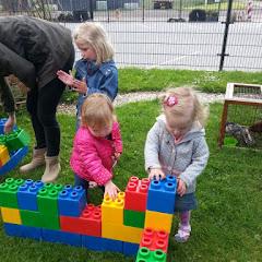 huis bouwen met grote blokken