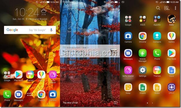 Software & Fitur Asus Zenfone 4 Selfie Pro ZD552KL