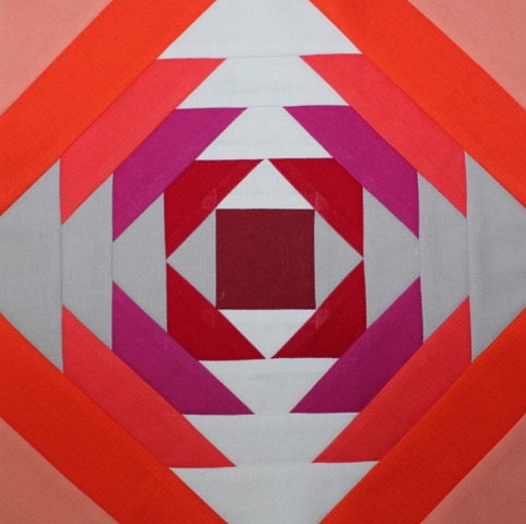 bella solid pineapple quilt block by kim lapacek