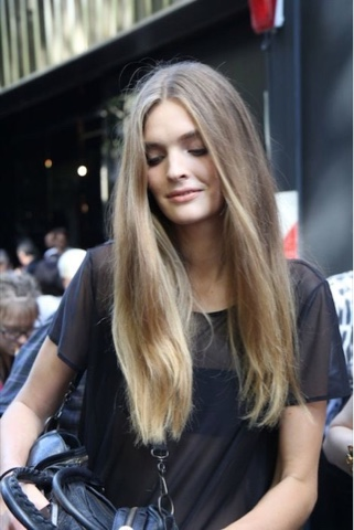 #hair #hairinspiration #longhair #messyhair #cabelo #modelsoffduty #offduty