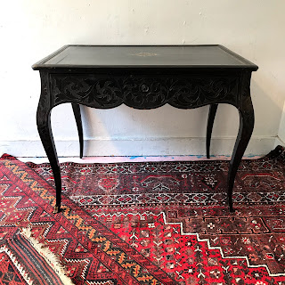 19th C. Leather Top Writing Desk