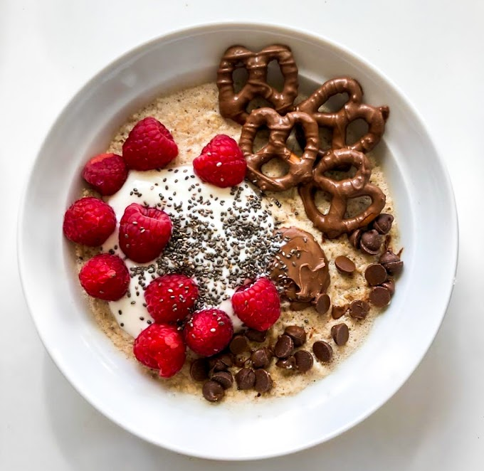 Salted Caramel Protein Oats Recipe | Breakfast Care