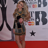 OIC - ENTSIMAGES.COM - Tallia Storm at the  The BRIT Awards 2016 (BRITs) in London 24th February 2016.  Raymond Weil's  Official Watch and  Timing Partner for the BRIT Awards. Photo Mobis Photos/OIC 0203 174 1069
