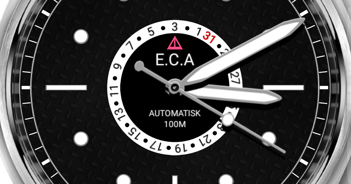 SVARTLING: E.C.ANDERSSON North Sea II Watch Face