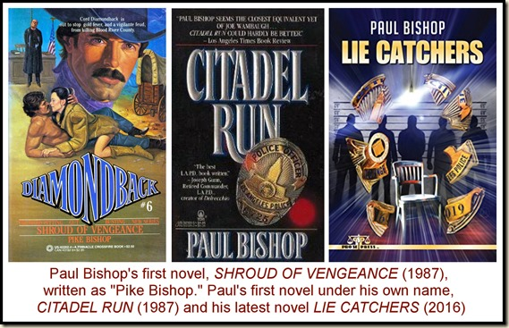 Three books by Paul Bishop