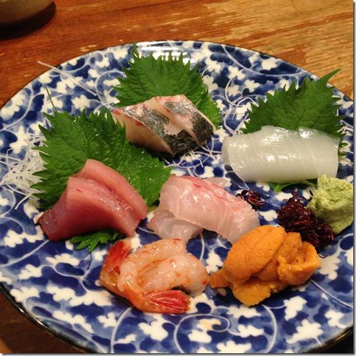 Kurakura sashimi
