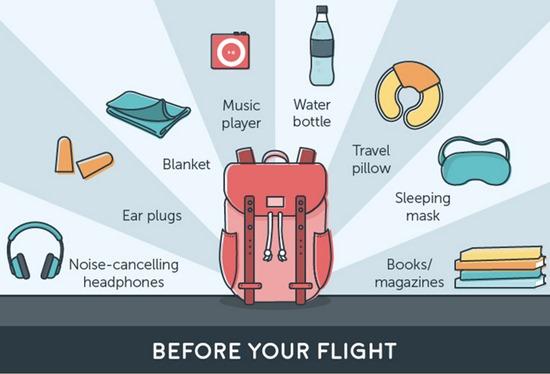飛行機で快適に寝る方法