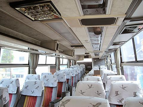 阿寒バス「釧路羅臼線」・・16 車内 その1