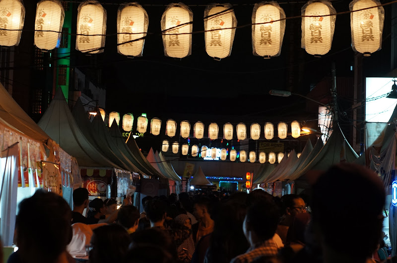 Lampion dan sesak pengunjung Ennichisai 2016