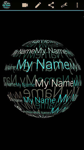 My Name in 3D Live Wallpaper 2.77 Apk for Android 6