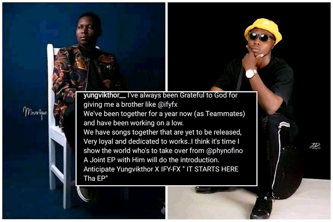 I Think it's Time I Show The World Who's To Take Over From Phyno - Yungvikthor Calls Out Phyno & Ify Fx