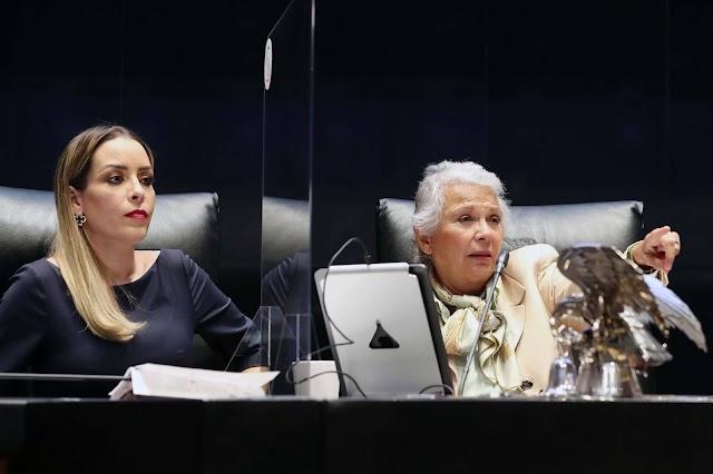 Aprueba el Senado garantizar derecho de las mujeres a amamantar en espacios públicos.
