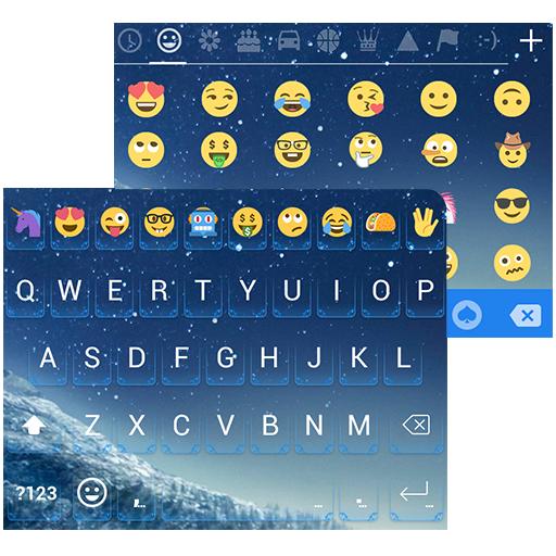 Emoji Keyboard for Galaxy S8 Icon