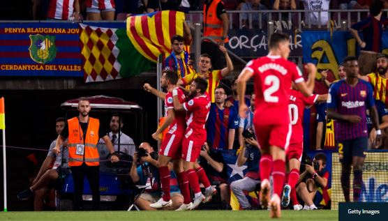 LUCKY ESCAPE!! Pique Scores Late As Barcelona Manage 2 – 2 Draw Against Girona (Goals Highlight)