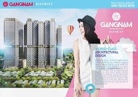 desain bangunan Gangnam diatrict