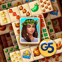 Pyramid of Mahjong: A tile matching city puzzle icon