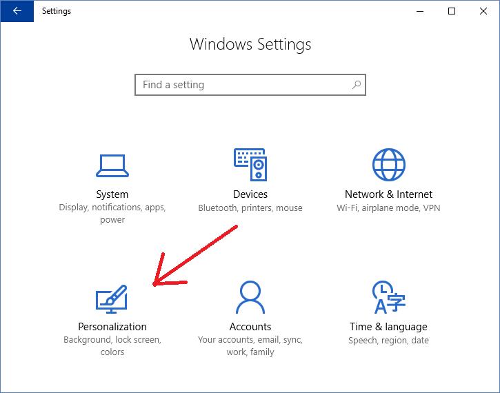 mengaktifkan full start screen di windows 10 01