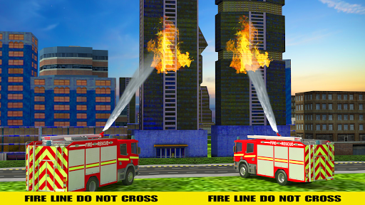 NY City FireFighter Hero: Rescue Truck Simulator 1.1 screenshots 2