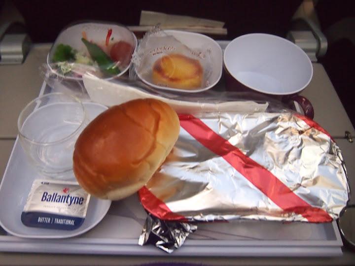 タイエアー機内食