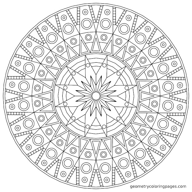 Mandala Coloring Pages Free