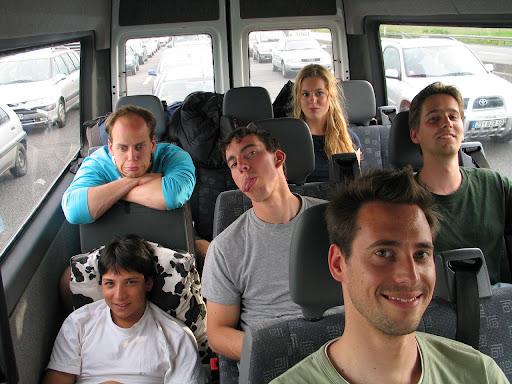Hemelvaartsweekend Bleau 2006