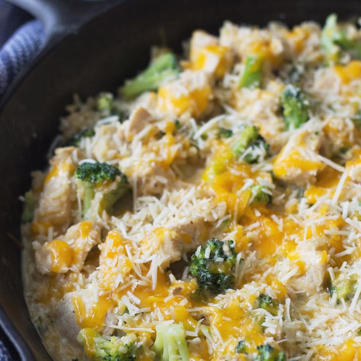 One Pot Chicken Broccoli and Rice Recipe