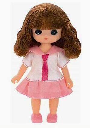 Búp bê Aoi dễ thương trong bộ đồng phục mẫu giáo