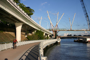 Riverwalk trail near Kurlipa Bridge